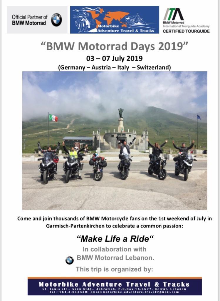 Bmw Motorrad Club Lebanon